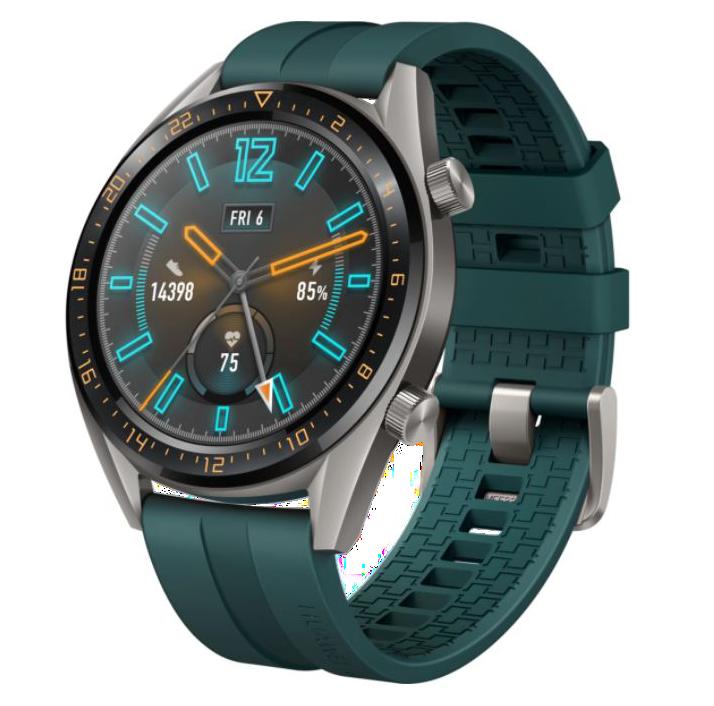 Ceas Smartwatch Huawei Watch GT, Dark Greena