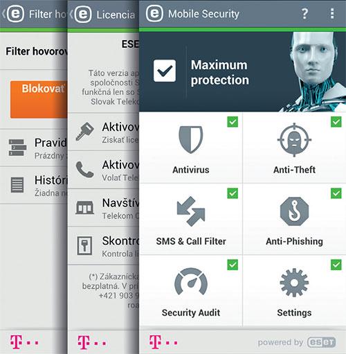 ESET Customizare Telekom Slovacia