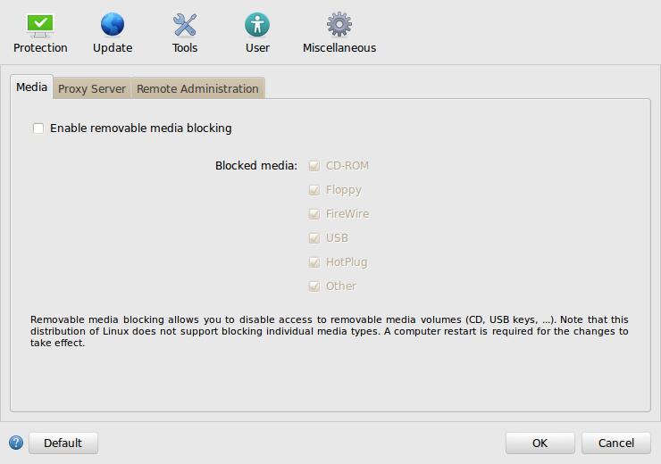 ESET NOD32 Antivirus Linux Configurare