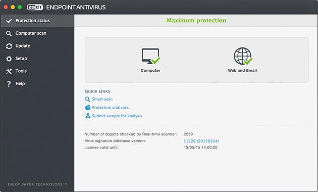 ESET NOD32 Antivirus Linux